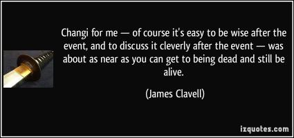 James Clavell's quote