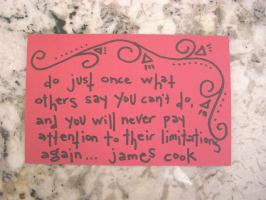 James Cook's quote
