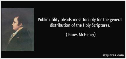 James McHenry's quote #1