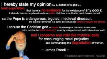 James Randi's quote