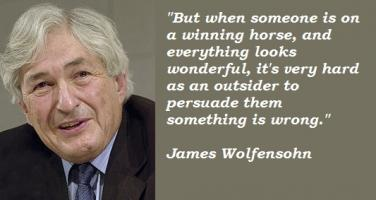 James Wolfensohn's quote #4