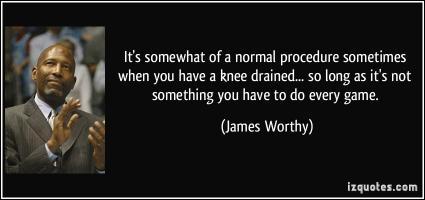 James Worthy's quote #2