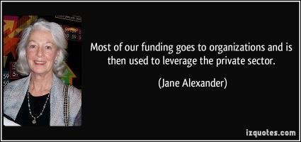 Jane Alexander's quote