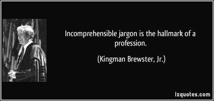 Jargon quote #1