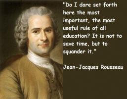 Jean-Jacques Rousseau's quote