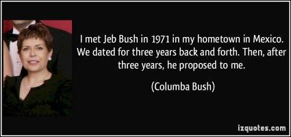 Jeb Bush's quote