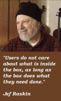 Jef Raskin's quote #4