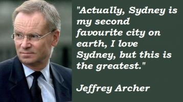 Jeffrey Archer's quote