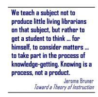 Jerome Bruner's quote