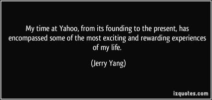 Jerry Yang's quote