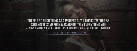 Jessica Alba's quote