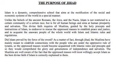 Jihad quote #1
