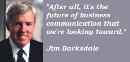 Jim Barksdale's quote