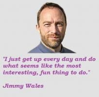 Jimmy Wales's quote