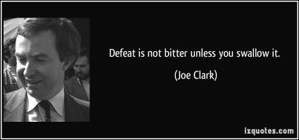 Joe Clark's quote