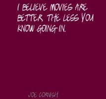 Joe Cornish's quote #6