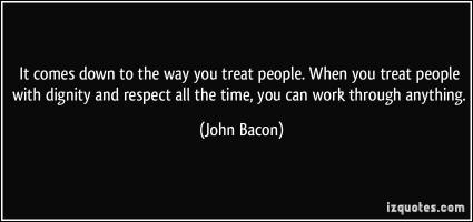 John Bacon's quote