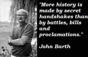 John Barth's quote