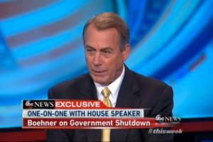 John Boehner's quote