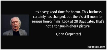 John Carpenter quote #2