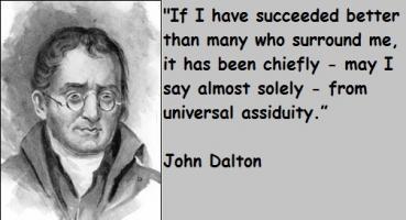 John Dalton's quote