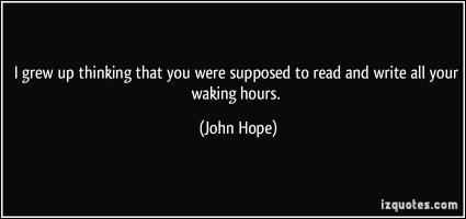 John Hope's quote #3