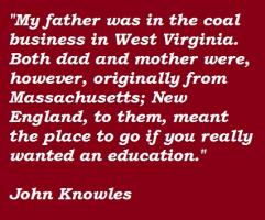 John Knowles's quote #4