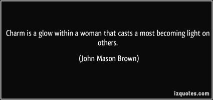 John Mason Brown's quote