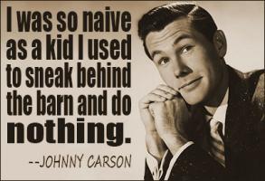Johnny Carson quote #2