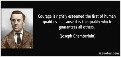 Joseph Chamberlain's quote