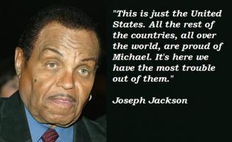 Joseph Jackson's quote