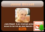 Josie Bissett's quote