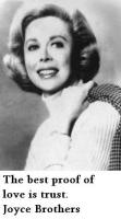 Joyce Brothers's quote