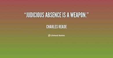Judicious quote #2