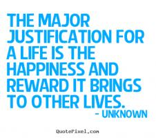 Justification quote #2