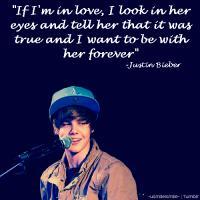 Justin Bieber's quote