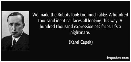 Karel Capek's quote