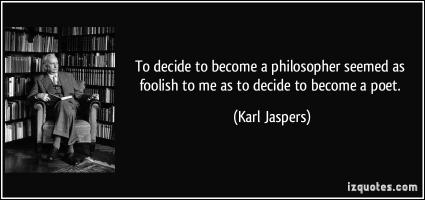 Karl Jaspers's quote