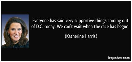 Katherine Harris's quote