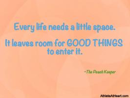 Keeper quote #1
