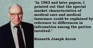 Kenneth Joseph Arrow's quote #2