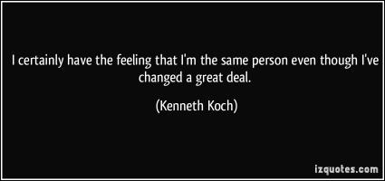 Kenneth Koch's quote
