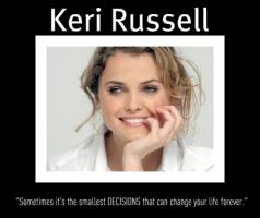 Keri Russell's quote