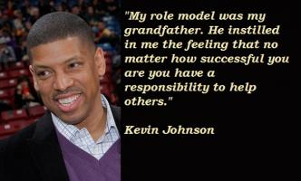 Kevin Johnson's quote