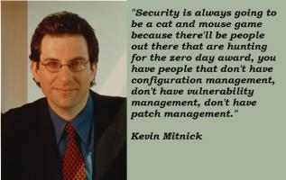 Kevin Mitnick's quote