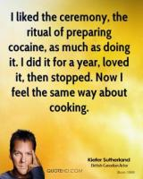 Kiefer Sutherland's quote