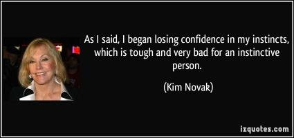 Kim Novak's quote