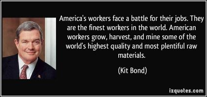 Kit Bond's quote