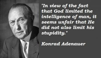 Konrad Adenauer's quote #4