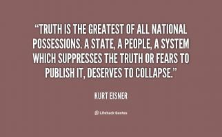 Kurt Eisner's quote